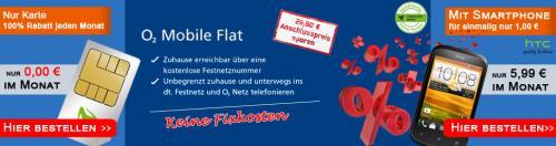 kostenlose Flatrate ins o2 Netz und ins Festnetz (mobilcom-debitel)