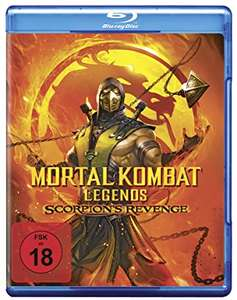 Mortal Kombat - Legends: Scorpion's Revenge (Blu-ray) (Amazon)
