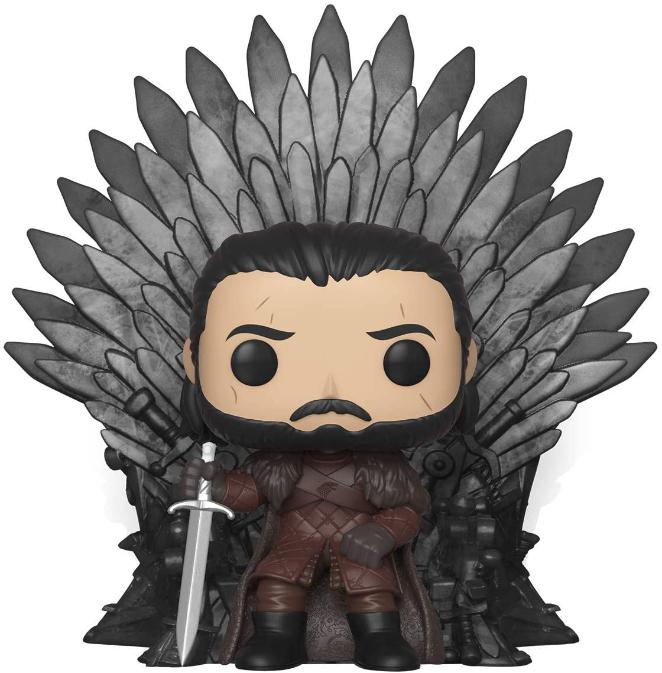 Funko Pop! Deluxe: Game of Thrones – Jon Snow sitzend auf Eisen-Thron für 15,70€