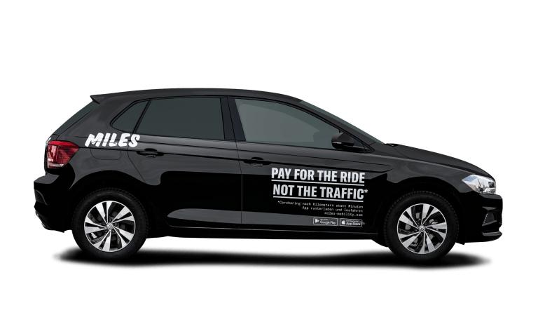 MILES bietet 10 € Guthaben an und 30 € für ein Auto 24 H.