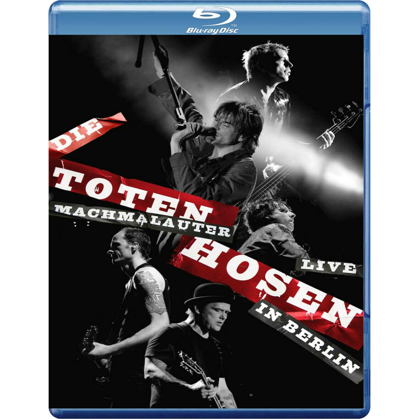 Die Toten Hosen - Machmalauter Live in Berlin (Blu-ray) für 5,19€ (Amazon Prime & Saturn & Media Markt Abholung)