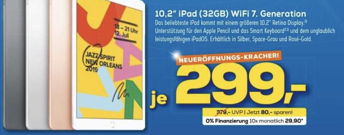 [Lokal] Apple iPad 10.2 Wi-Fi 32GB (7.Gen)