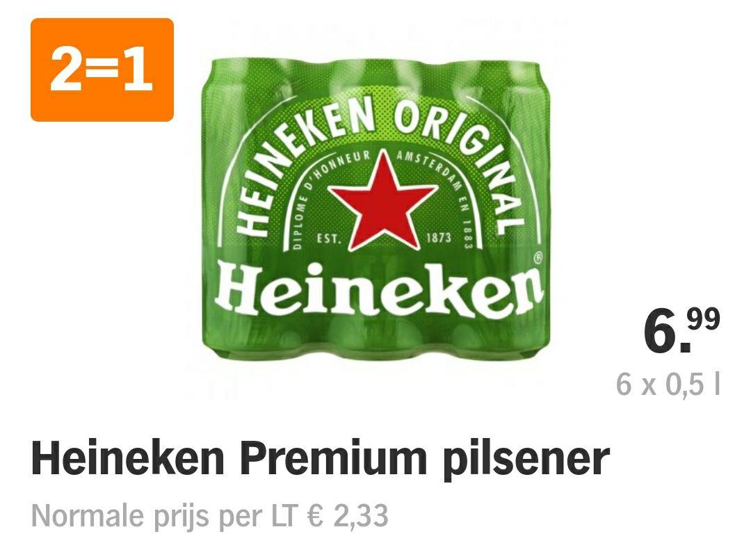 [Grenzgänger NL] Heineken 2 x Sixpack 0,5l für 6,99€ - 1,17€/l (Albert Hejn / Jumbo)