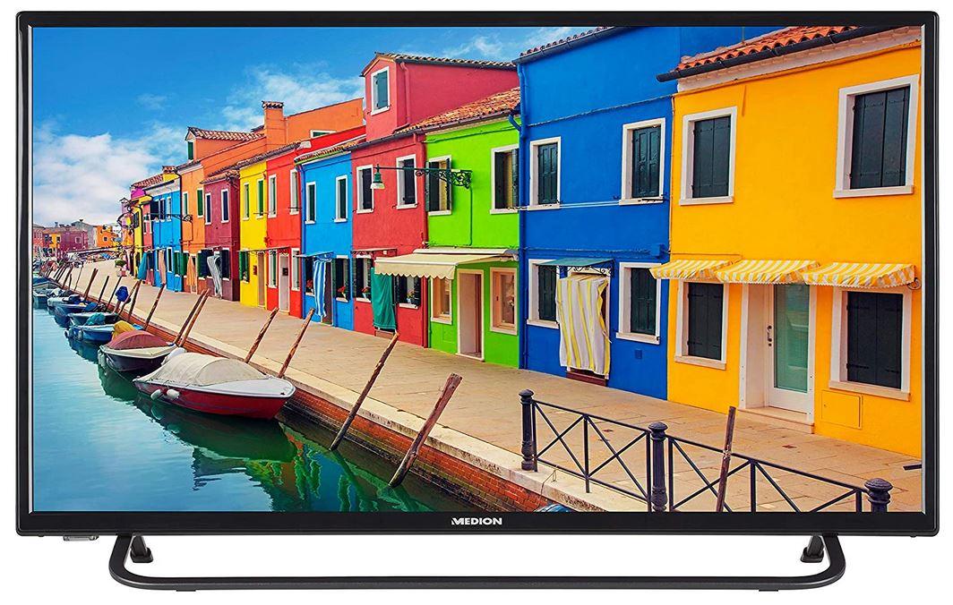 "MEDION E13293 Fernseher 80cm/31,5"" Zoll Full HD LED TV DVB-T2 Triple Tuner OSD CI+ A [Energieklasse A]"