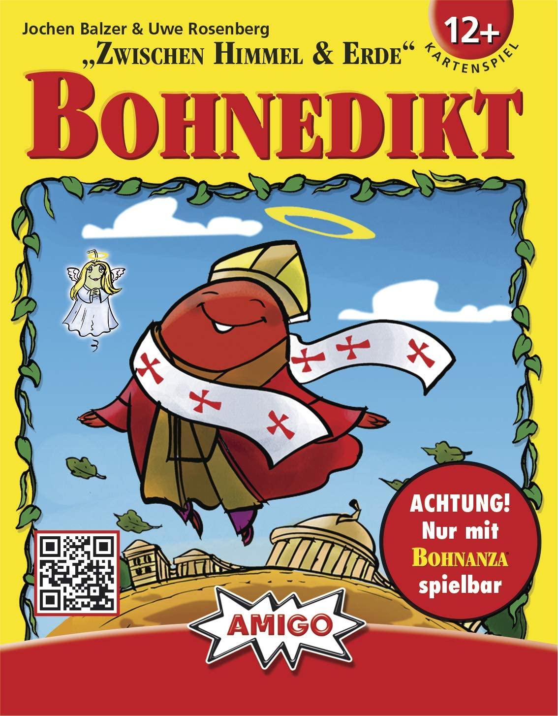 Amigo - Bohnedikt, Bohnanza-Erweiterung, Kartensspiel für 5€ (Amazon Prime & Galeria Kaufhof Abholung)