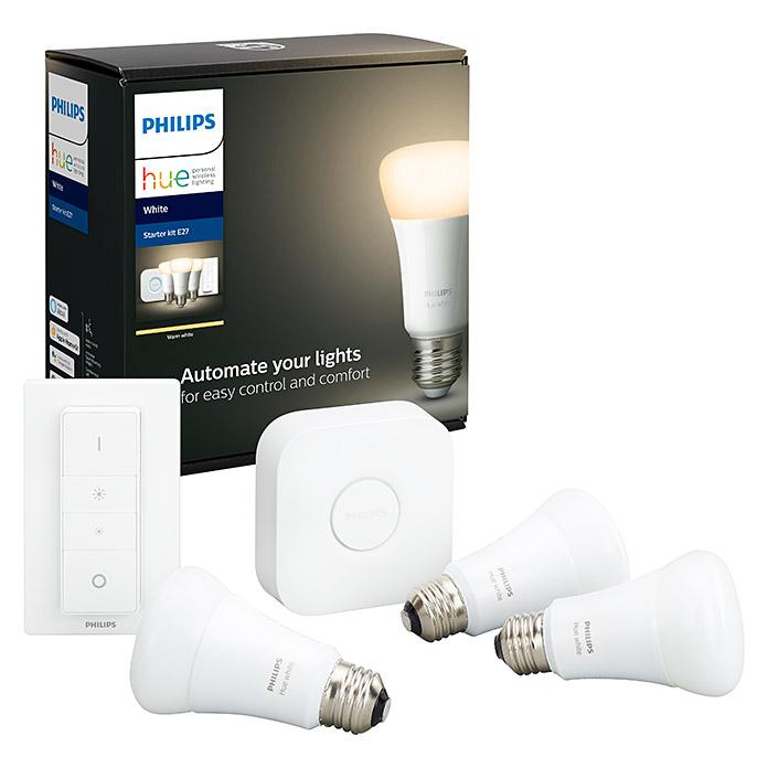 Philips Hue LED-Leuchtmittel-3er Set Starter-Kit bei Abholung im Hornbach mit Tiefpreisgarantie