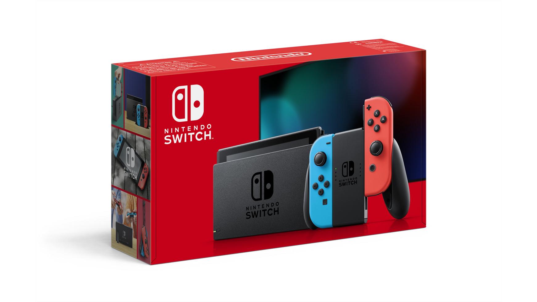 Switch Blau/Rot (2019er Modell)