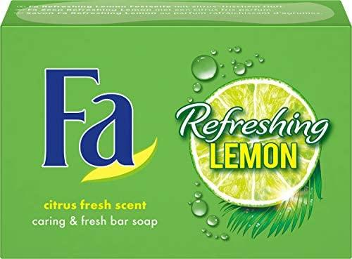 (PRIME) Fa Refreshing Lemon Festseife, 1er Pack (1 x 100 g)