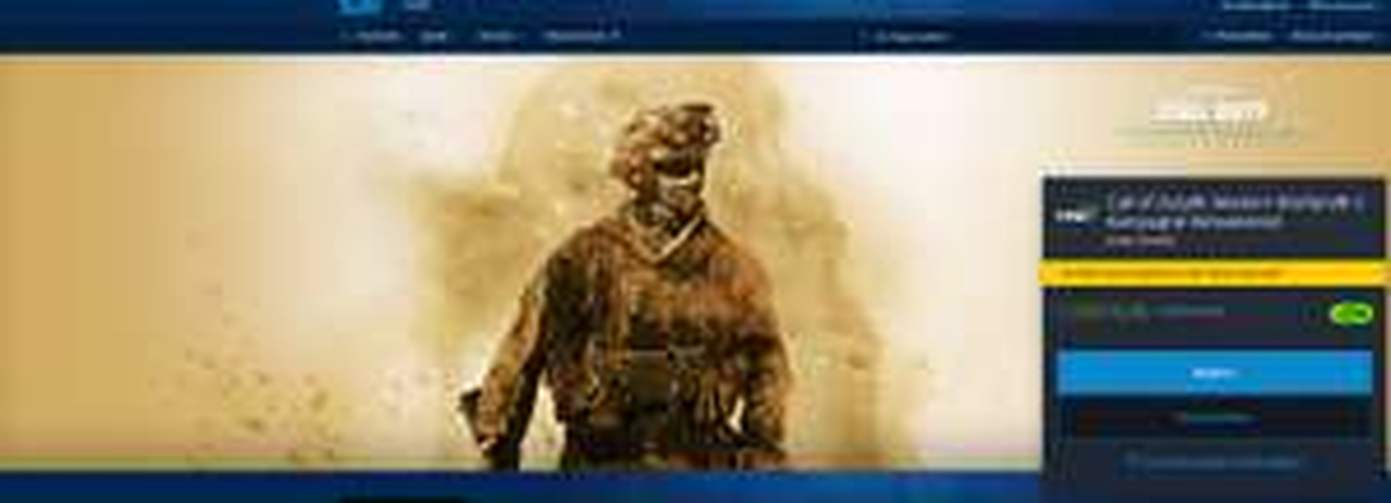 Call of Duty: Modern Warfare 2 Kampagne Remastered - Battle.net - Russland PC-Version (in Deutsch spielbar)