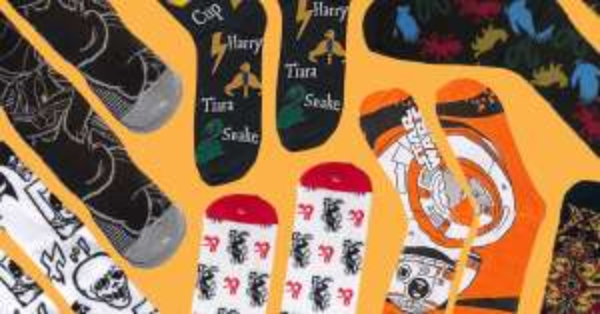 3er Pack Mystery Socken aus Bereichen Gaming / TV Shows / Movies