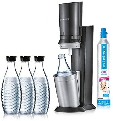 Sodastream crystal 2.0 4x Glaskaraffen