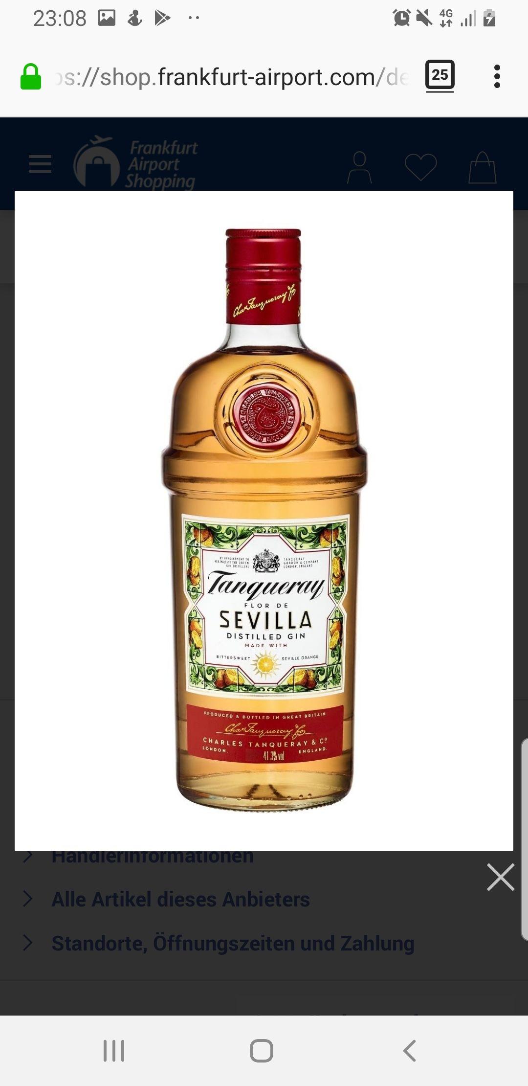 1 L Tanqueray Flor de Sevilla 41,3% - Gin