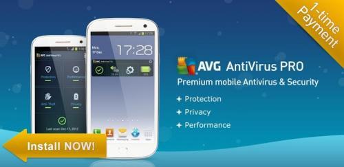 AVG AntiVirus Security PRO 2013 Kostenlos für 1 Jahr [Android]