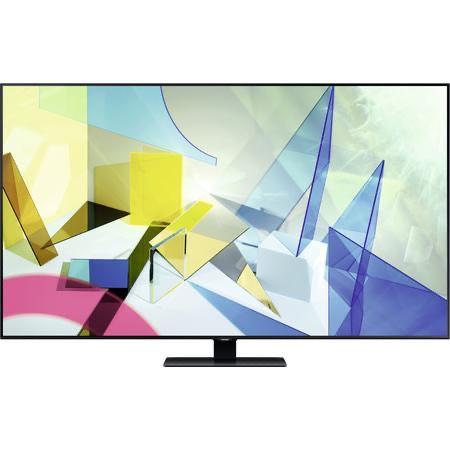 """Samsung GQ49Q80T 49"""" UHD QLED Fernseher, HDR10+, WLAN, DVB-T2/S2/C, silber"""