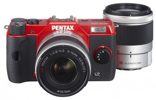 Pentax Q10 Kit + 2 Objektive 5-15 mm f/2.8-4.5 und 15-45 mm f/2.8 für 476,63 € @Amazon.fr