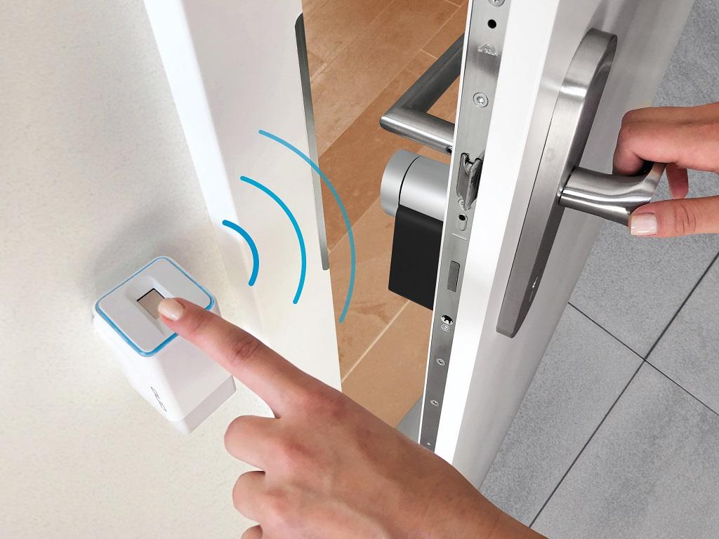 ekey uno Fingerprint mit Nuki Smart Lock 2.0 (Smarthome, Fingerprint, Nuki, ekey, Smartlock)