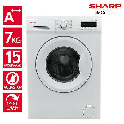 Sharp ES-FB7143W3A Waschmaschine (A+++, 7kg, 15 Programme, 1400 U/Min)