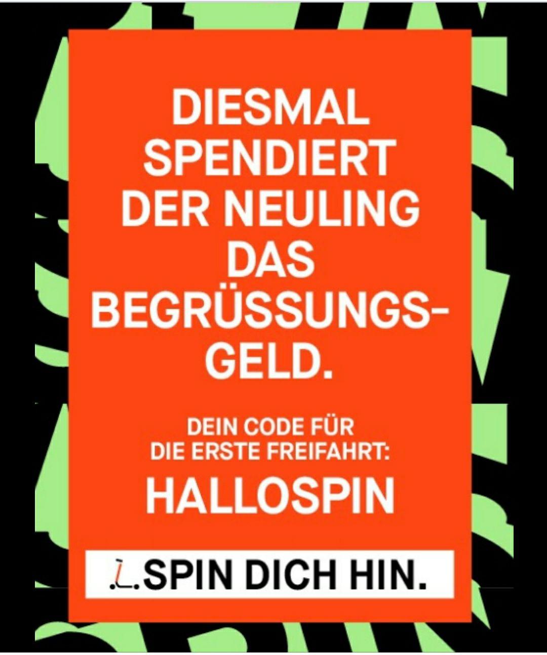 [lokal Köln/Essen/Dortmund] - Freifahrt mit SPIN E-Roller