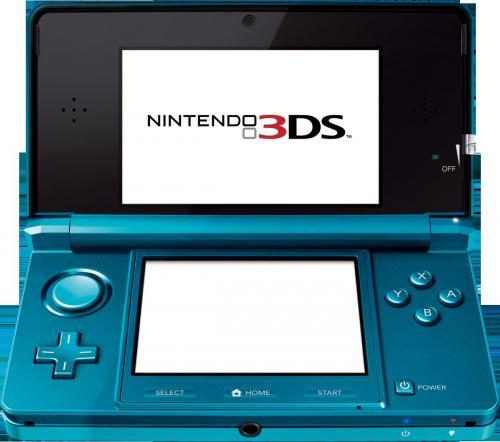 Nintendo 3DS - REWE (lokal) - Restposten (Blau & Schwarz)
