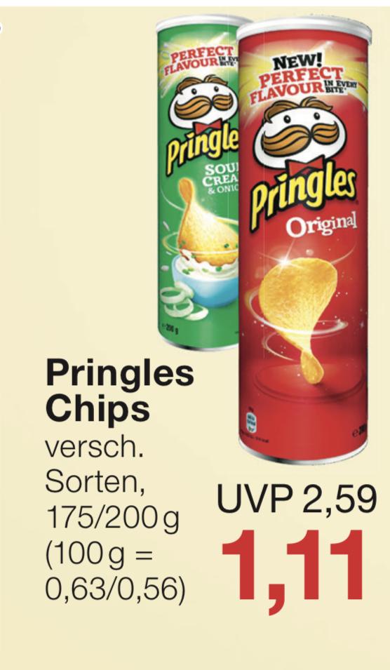 [Jawoll & Penny] Pringles Chips Original - verschiedene Sorten für 1.11€