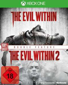 The Evil Within + The Evil Within 2 Double Feature (Xbox One) für 14,99€ (Müller Abholung)