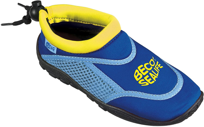 (Prime) Beco Unisex Kinder Sealife Surfschuhe, Strandschuhe, Wattschuhe, Badeschuhe