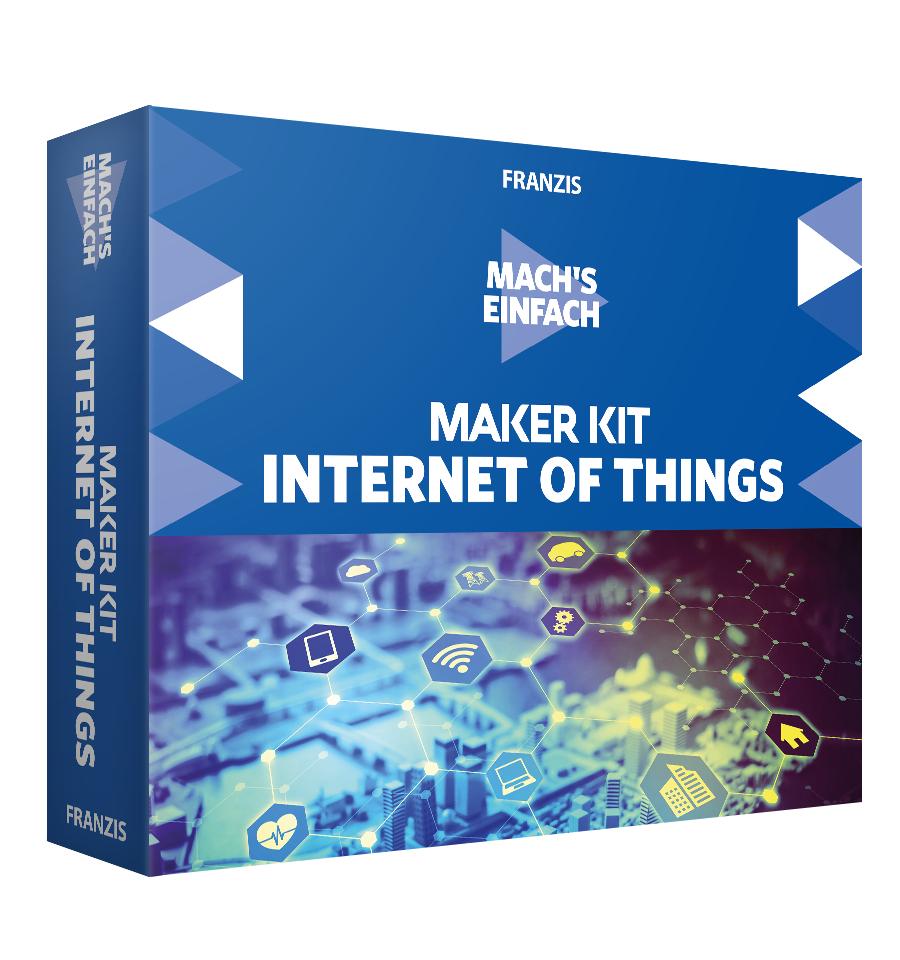 Maker Kit Internet of Things Baukasten von Franzis für 34,95€