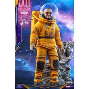 Hot Toys Guardians of the Galaxy Vol. 2 Movie Masterpiece Action Figur 1/6 Stan Lee 2019 Toy Fair Exclusive 31 cm