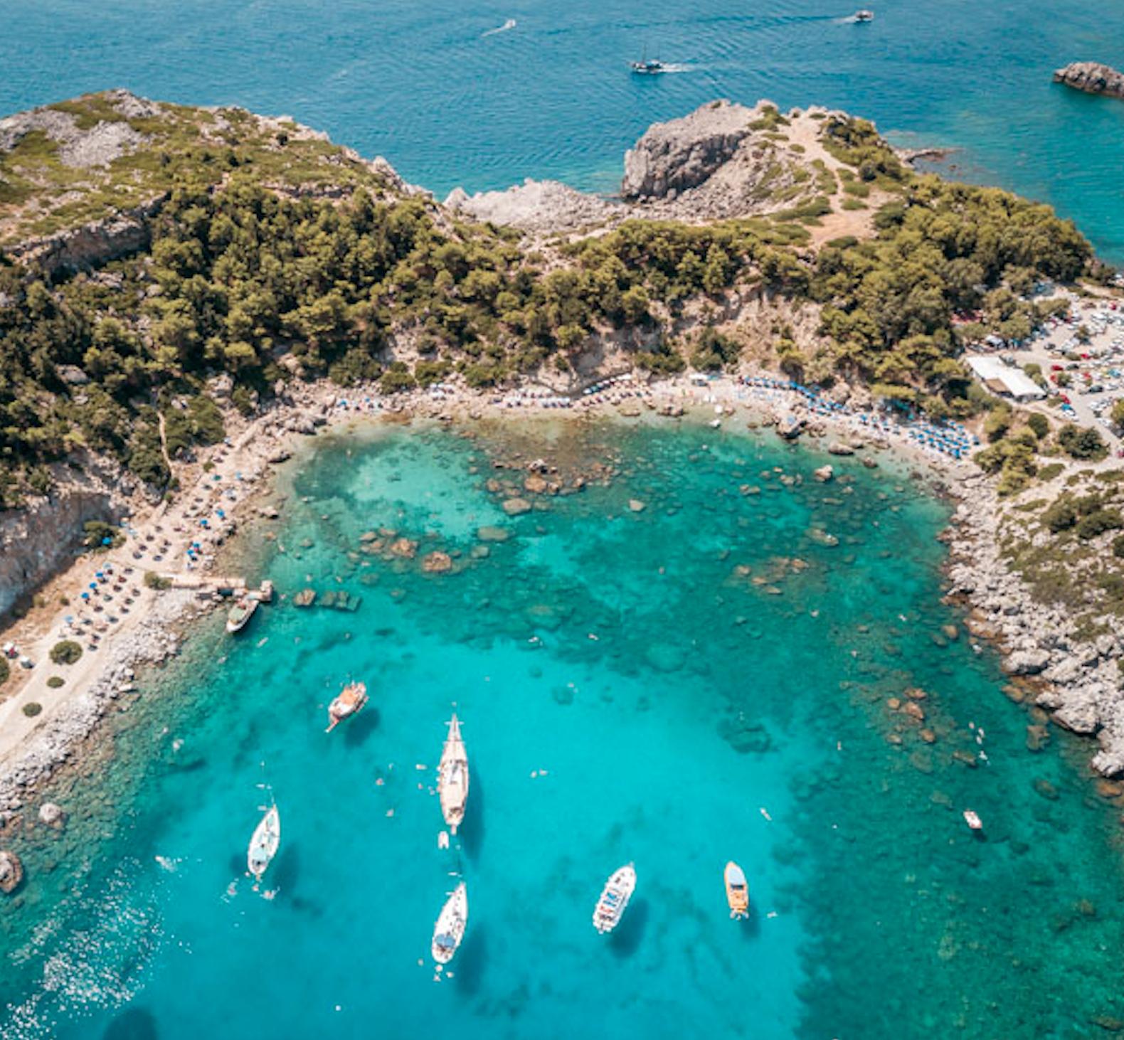 Rhodos, Griechenland: 7 Nächte & 2 Personen - Studio im 3*Hotel Achousa Faliraki - Juli & August