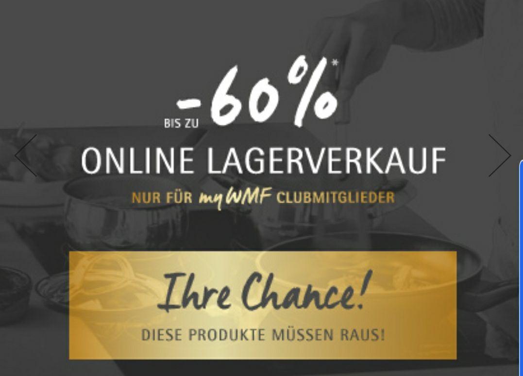 WMF Online Lagerverkauf (Clubmitglieder myWMF)