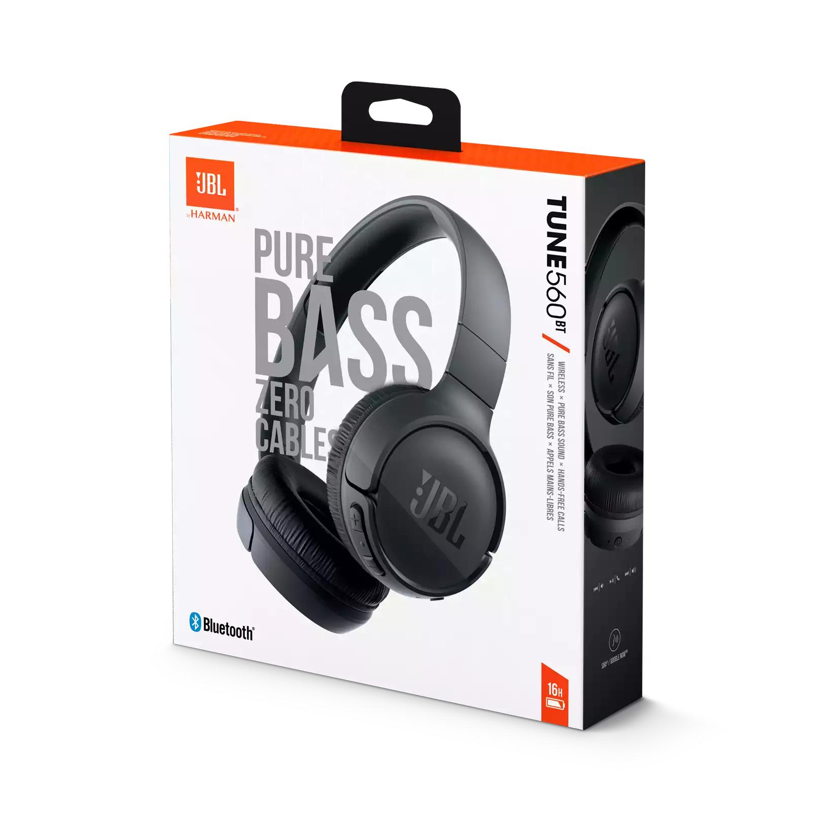 JBL T 560 BT On-Ear Bluetooth Kopfhörer, Headsetfunktion