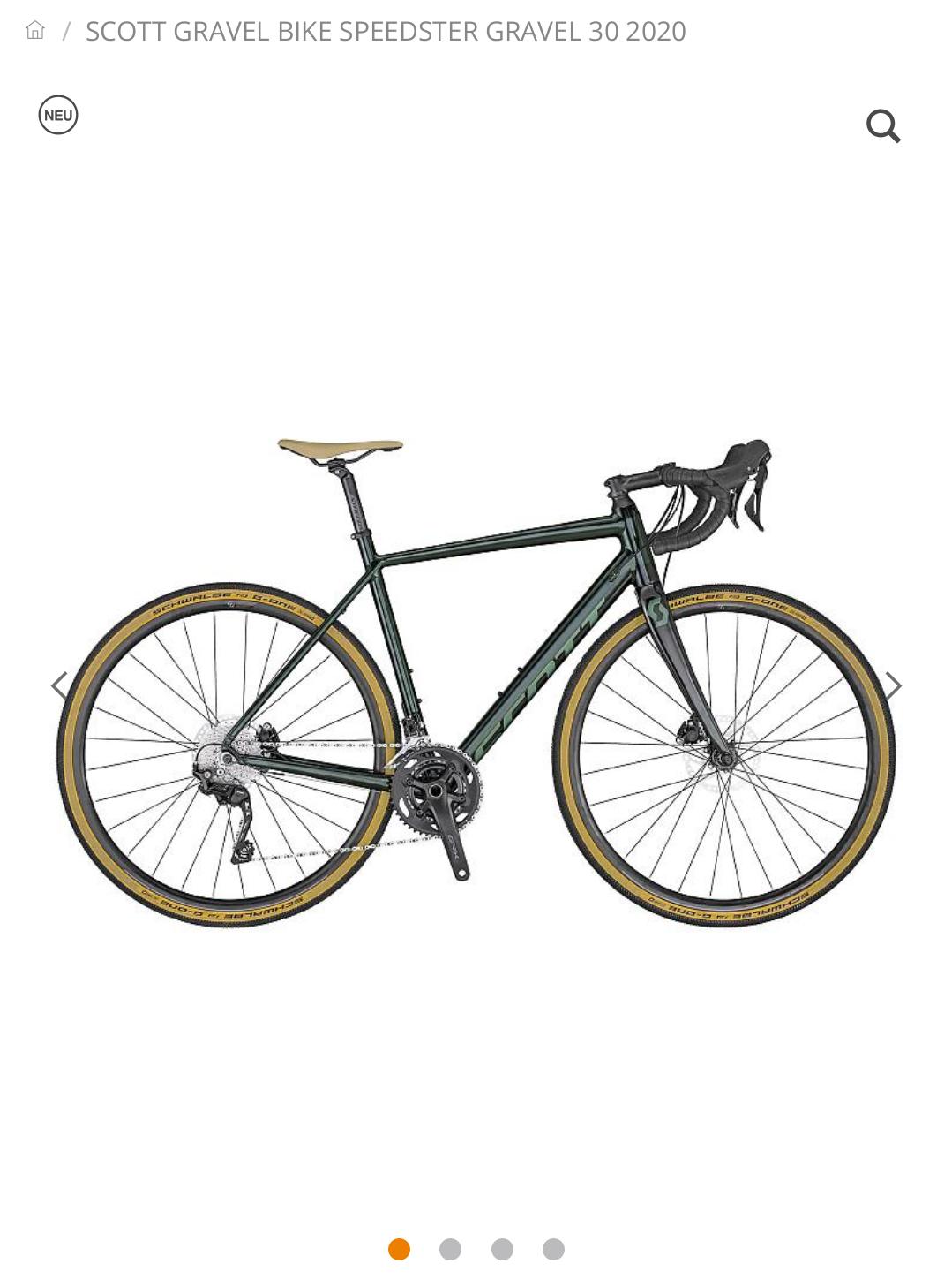 Scott Gravel Bike Speedster Gravel 30 2020