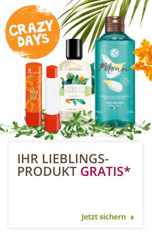 Yves Rocher: 1. Produkt kostenlos (10€ MBW) | ab 20€ vsk frei |10€ Rabatt ab 40€ oder 15% ab 45€ MBW