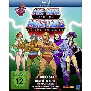 He-Man and the Masters of the Universe - Die komplette Serie (Blu-ray) für 23,99€ (Weltbild)