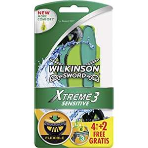 [AMAZON Prime] Wilkinson Sword Xtreme 3 Sensitive Einwegrasierer