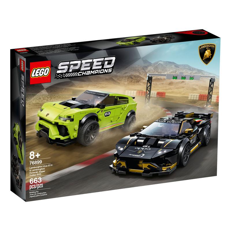 [Toymi.eu] LEGO Speed Champions Lamborghini 76899 + 2 Polybags gratis dazu
