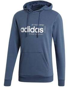 adidas 'Brilliant Basics' Hoodie in Rauchblau, Gr. S-2XL