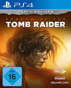 Shadow of the Tomb Raider Croft Edition (PS4) für 21,02€ (Amazon Prime)