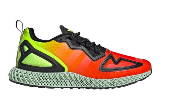 "25% (extra) Rabatt auf adidas 4D Sneakers, z.B. adidas Performance ZX 2K 4D ""Solar Yellow"""
