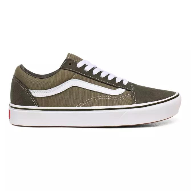 10% extra Rabatt auf den VANS-Sale, z.B. OLD SKOOL Sneakers Oliv