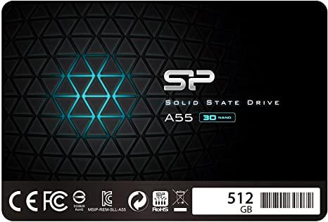 [Amazon Marketplace][Versand Amazon] Silicon Power Ace A55 512GB, SATA SSD, TLC, SLC Cache