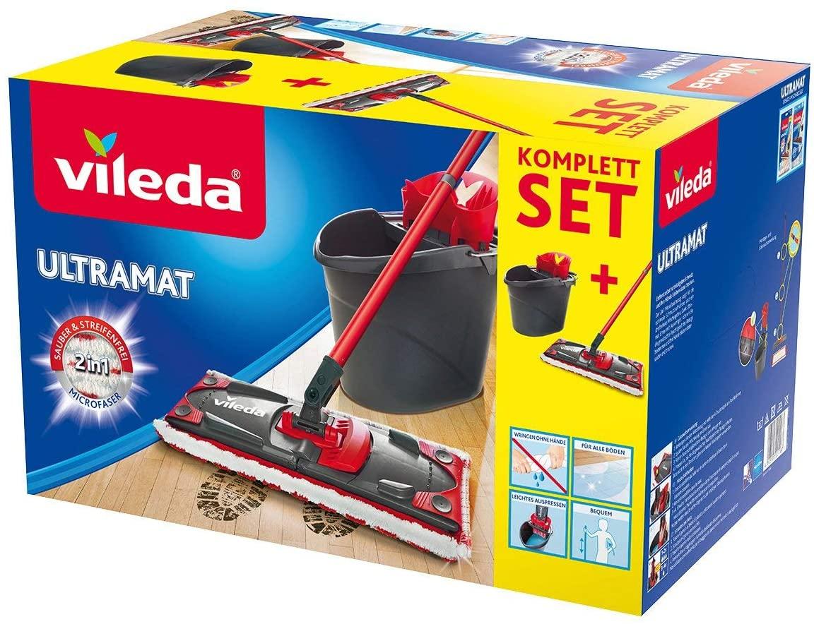 Vileda Ultramat 2in1 Komplett Box Bodenwischer Set für 18,69€ (Amazon Prime)