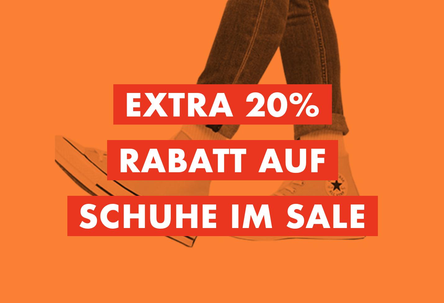 ASOS Extra 20% Rabatt auf Schuhe im Sale!