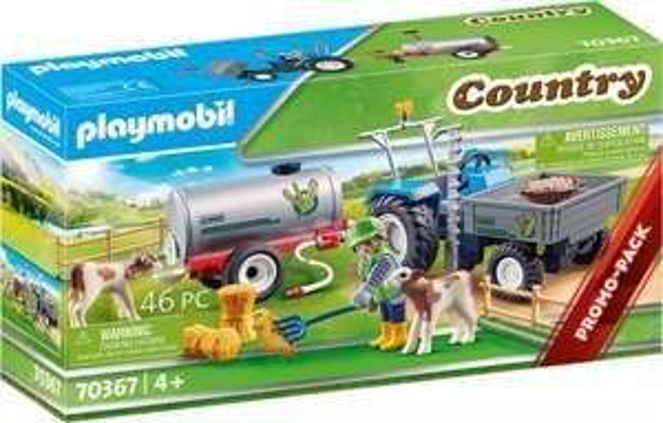 "PLAYMOBIL Ladetraktor mit Wassertank ""70367"" [buecher.de]"