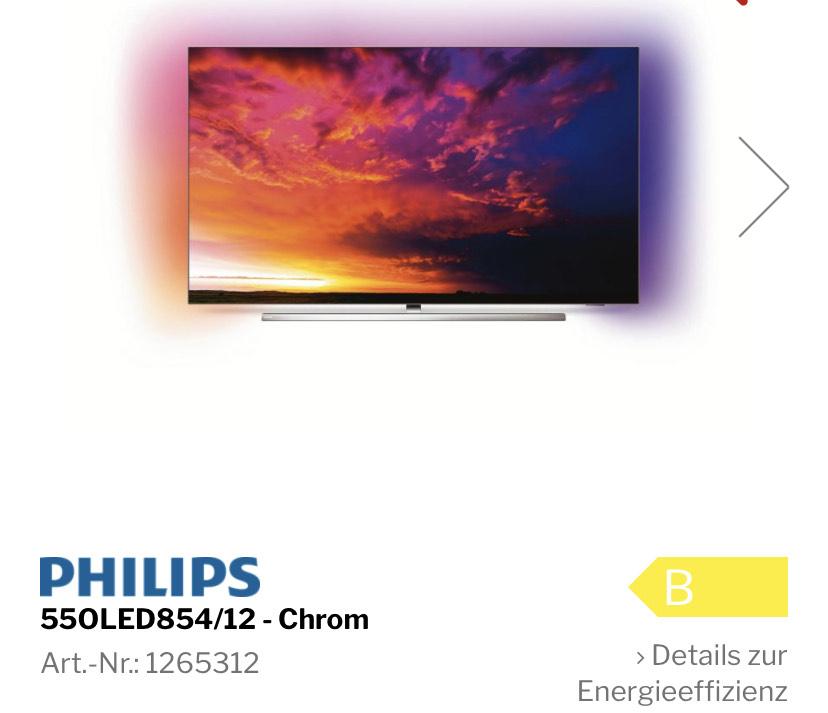 Philips 55 OLED 854/12