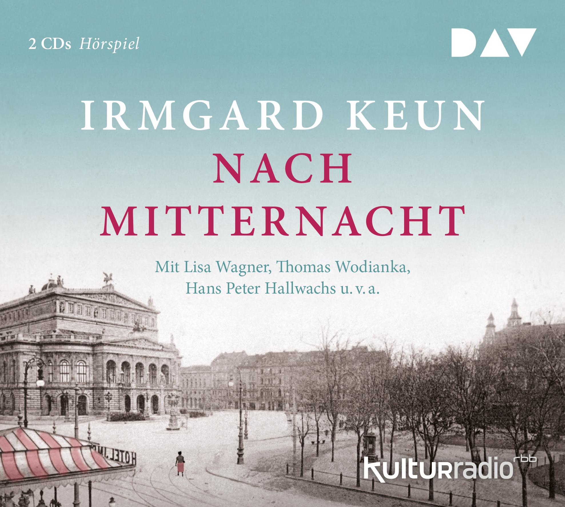 """Gratis / Kostenlos: DAV-Hörspiel """"Nach Mitternacht"""" nach Irmgard Keun als mp3-Download beim SWR"""