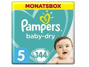Pampers 5 Baby Dry im Sparabo mit 20%