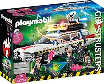 PLAYMOBIL Ghostbusters 70170 Ecto-1A mit Licht- und Soundeffekte