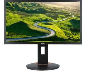 "Acer XF240H 24"" Monitor (FHD, TN, 350cd/m², 144Hz, 1ms, FreeSync, G-Sync Compatible, DVI, HDMI, DP, VESA, ergonomisch, Pivot)"