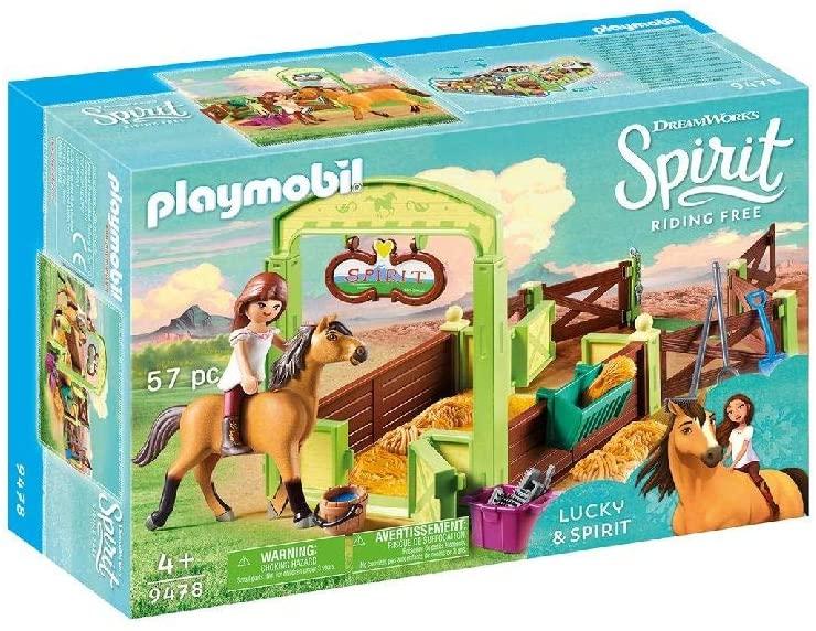 [Amazon Prime] Playmobil Spirit 9478 Pferdebox Lucky & Spirit